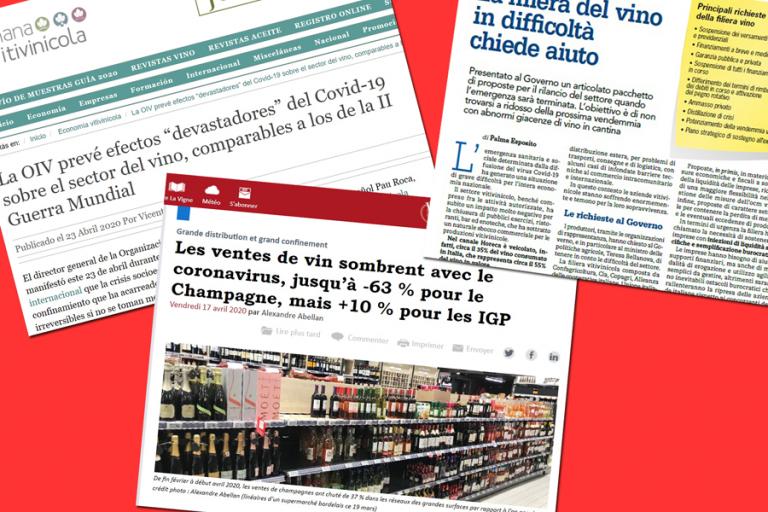 Il mondo vitivinicolo si appella alle istituzioni per la crisi COVID-19