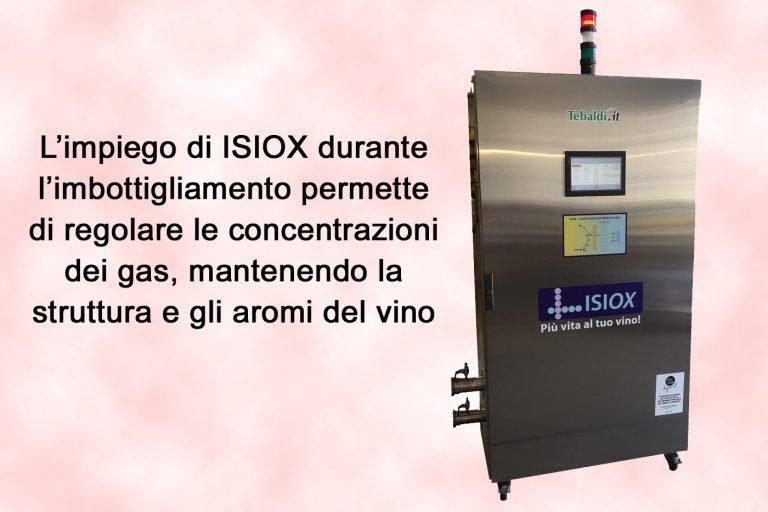 ISIOX®, per l'ottimizzazione dei gas disciolti nel vino