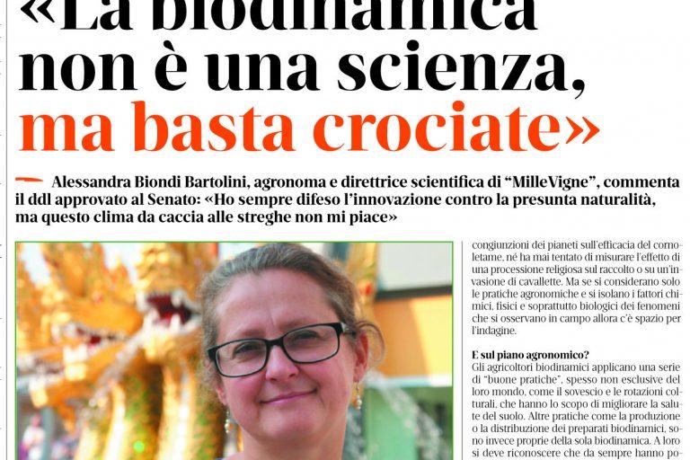 Biodinamica e legge sul biologico, abbassare i toni